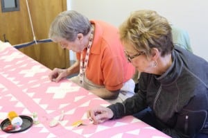 hand quilting group