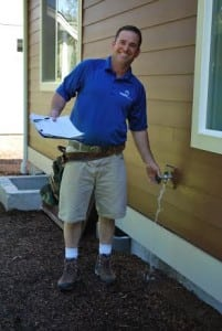 Bill Ryan knows a one-year warranty inspection often pays for itself when construction issues are uncovered.