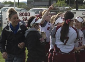 W.F. West senior Jessica McKay, a three-time all-EvCo selection, has settled into her new role with the undefeated Bearcats following a knee injury. McKay helped the Bearcats win the Class 2A state championship last year after batting .532.
