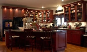 This remodeled kitchen shows another dimension of Sandrini's work.