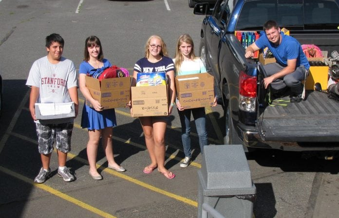 School Supply Drive Chehalis