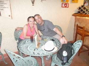 Dwayne and Ana in Cuba