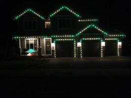 Christmas Lights Lewis County