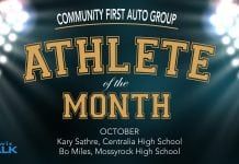 Community First Athletes of the Month