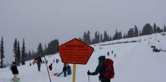 Mount Rainier Sledding