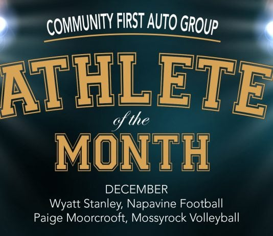 Community First Auto Group Athletes of the Month