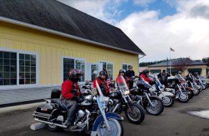 Tenino Motorcycle Drill Team