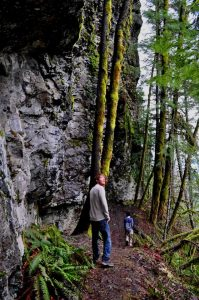 Hiking Covel Falls