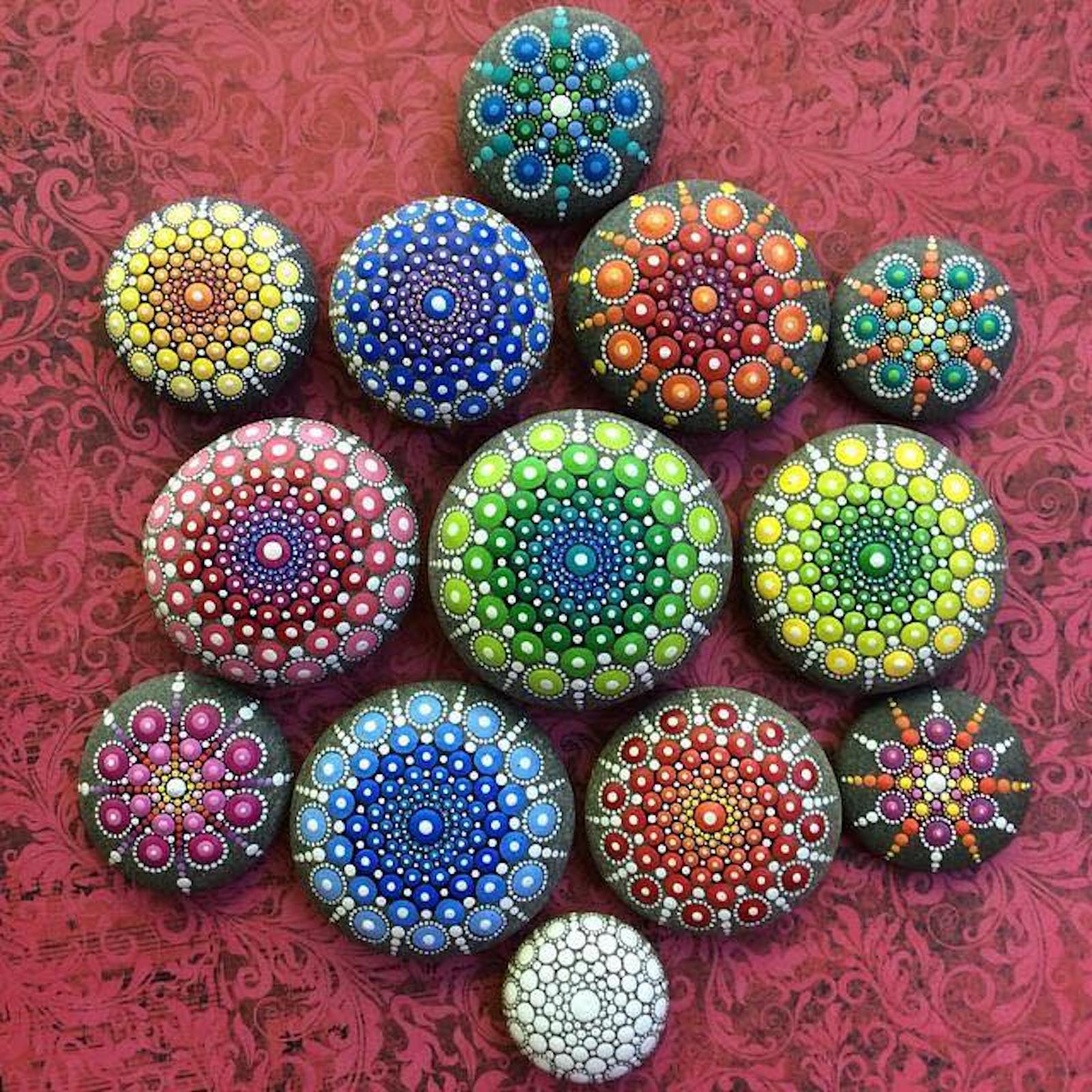 painted rocks spread joy and community in lewis county lewistalkwa