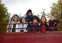 Chehalis Steam Train Halloween
