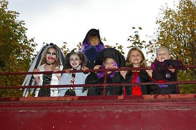 Chehalis Steam Train Halloween