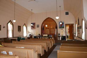 Dryad Community Church Sanctuary