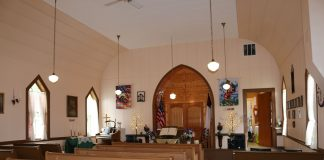 Dryad Community Church Sanctuary