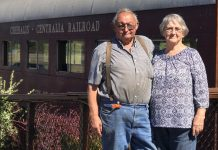 Chehalis-Centralia Railroad and Museum Bill And Wanda Thompson
