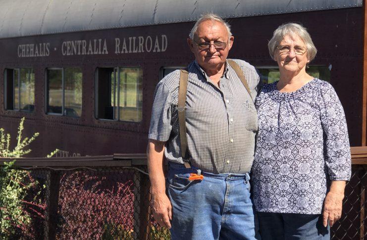 Chehalis-Centralia Railroad and Museum Bill And Wanda Thompson