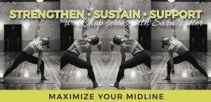 Maximize Your Midline: Strengthen Sustain Support Workshop Series with Sara @ Embody Movement Studio | Centralia | Washington | United States