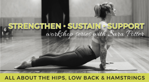 All About Hips, Low Back and Hamstrings: Strengthen Sustain Support Workshop Series @ Embody Movement Studio | Centralia | Washington | United States