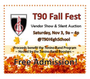 T90 Fall Fest @ Tenino High School Commons | Tenino | Washington | United States