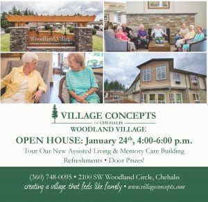 Village Concepts of Chehalis, Woodland Village Open House @ Village Concepts of Chehalis, Woodland Village