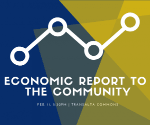Economic Report to the Community @ TransAlta Commons Room 105C