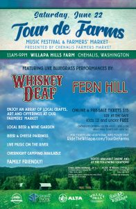 Tour De Farms - Music Festival and Farmers' Market @ Willapa Hills Farm