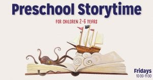 Preschool Storytime @ Vernetta Smith Chehalis Timberland Library