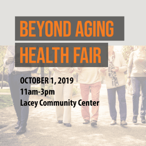 Beyond Aging Health Fair @ Lacey Community Center