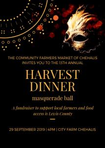Harvest Dinner Chehalis