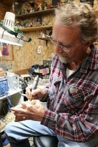 Master Carver Fred Jurey