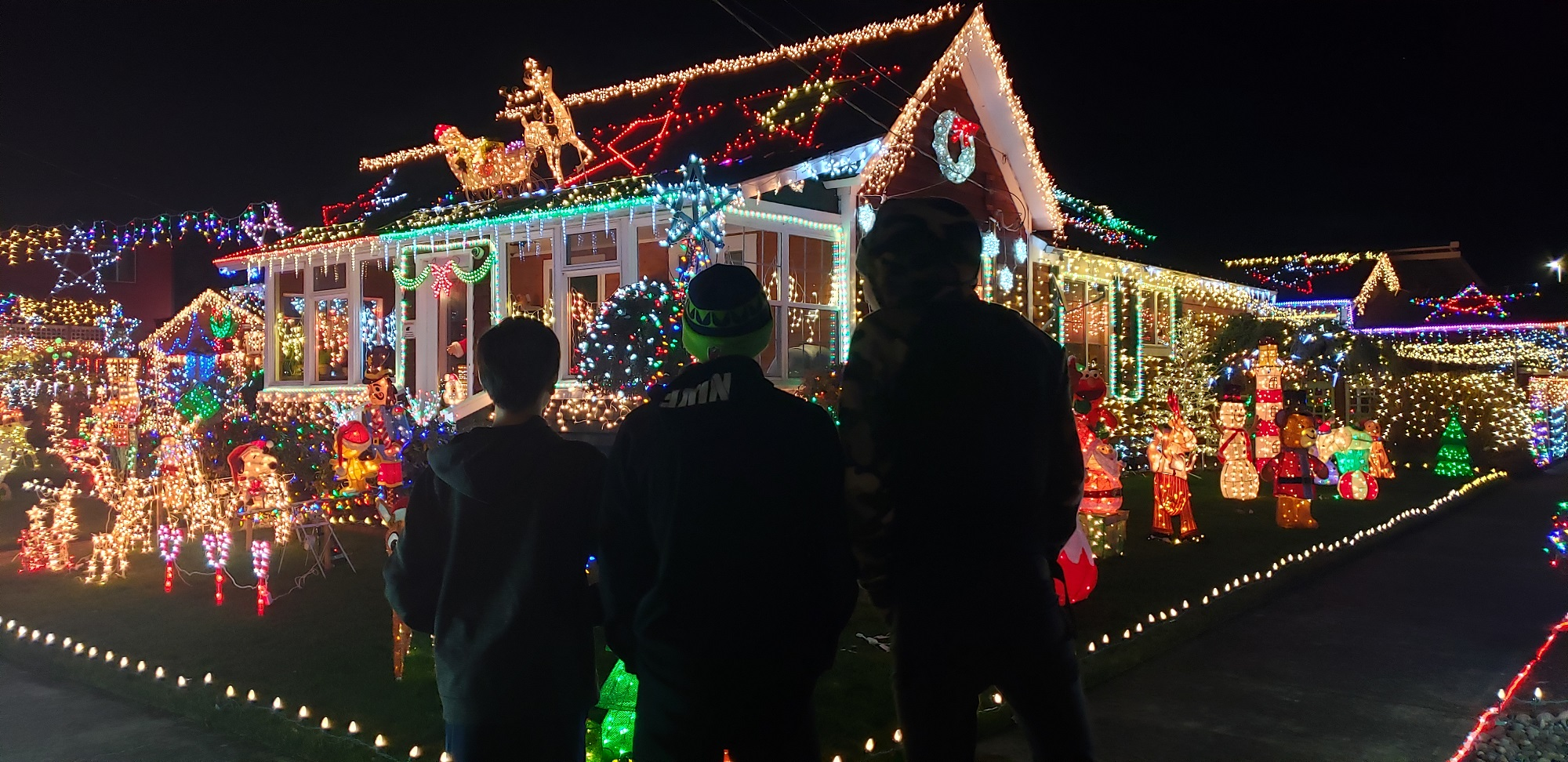 Where to See Holiday Lights in Centralia, Chehalis and Lewis