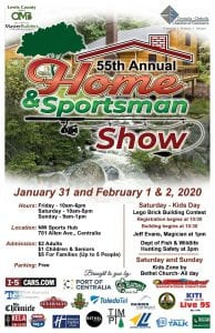 Home and Sportsman Show flyer
