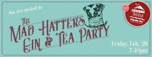 Adult Swim: The Mad Hatter's Gin & Tea Party (21+) @ Hands On Children's Museum