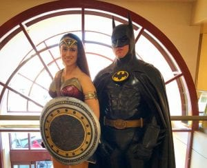 Meet and greet superheroes Amazon of Olympia & Batman in Seattle @ Hands On Children's Museum