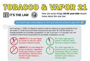 Legal Tobacco Age
