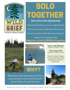 Wild Grief Solo Together Teen Program Trip 2 @ Online