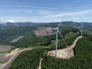 Puget Sound Energy's Skookumchuck Wind Energy Project