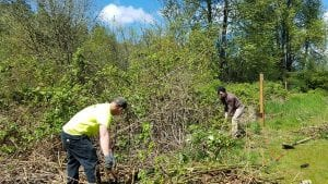 Earth Day Work Party at Centralia's Discovery Trail @ Discovery Trail, Centralia