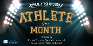 Community First Auto Group Athlete of the Month