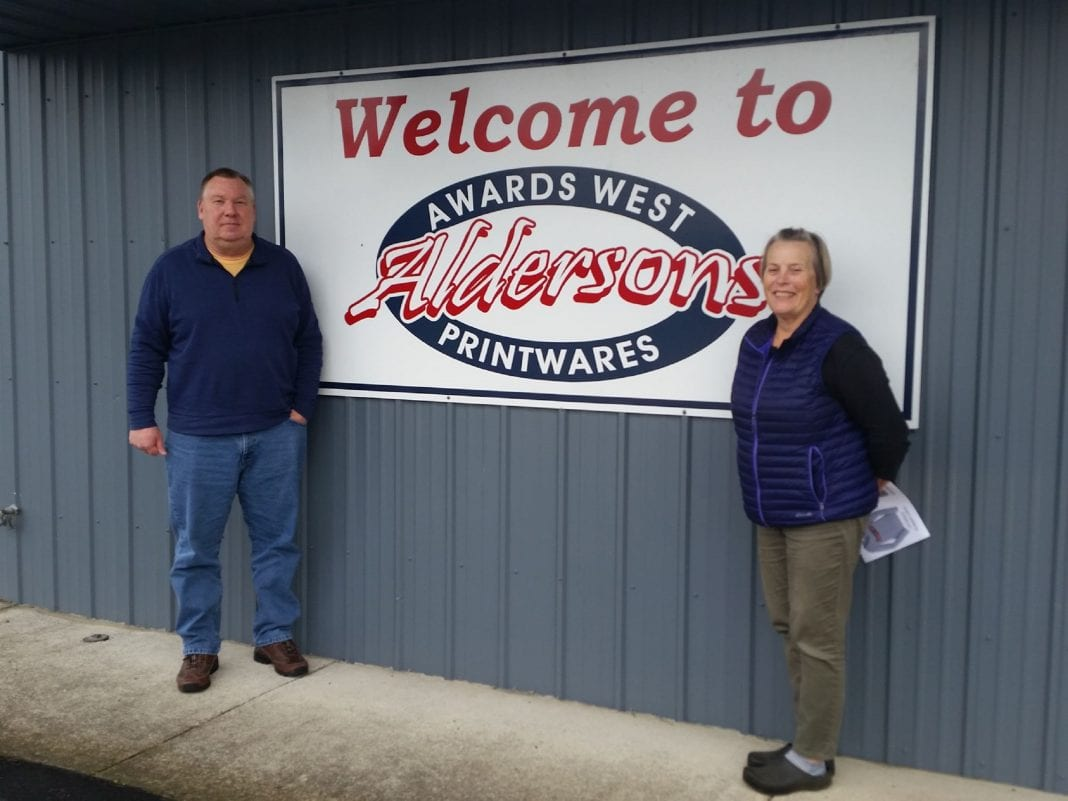 Alderson's Awards West Printwares
