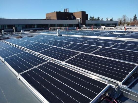 Providence Centralia solar array