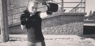 Napavine's Fiercest Fighter Tasha Cleveland